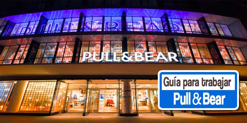 pull and bear trabajo