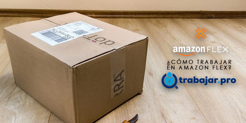repartidor amazon flex trabajo